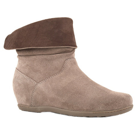 Cougar Waterproof Suede Leather Boots - Fifi