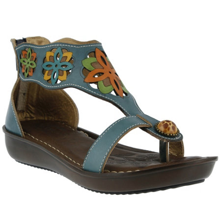 Spring Step L'Artiste Leather Sandals - Kloof