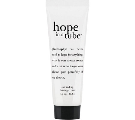 philosophy super-size hope in a tube high density eye & lip cream