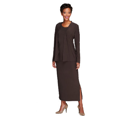 Attitudes by Renee Jersey Knit Regular 4-piece Wardrobe Set