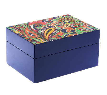 Vera Bradley Signature Print Jewelry Box