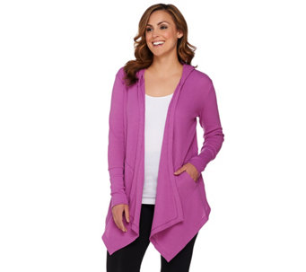 cee bee CHERYL BURKE Thermal Hooded Jacket with Pockets - A278044