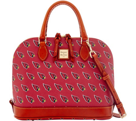 Dooney & Bourke NFL Cardinals Zip Zip Satchel
