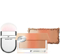 IT Cosmetics Confidence In Your Glow BlushingBronzer w/Wonder Brush - A292744