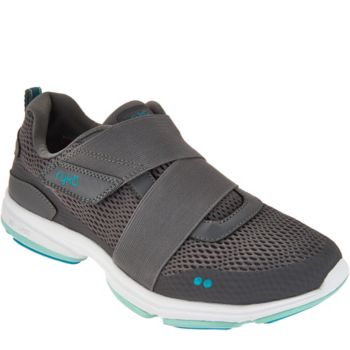 Ryka Mesh Slip-On Sneakers with Strap Detail - Devotion Cinch
