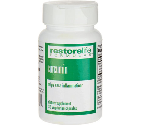 RestoreLife Formulas Curcumin Renew 30-day Supply