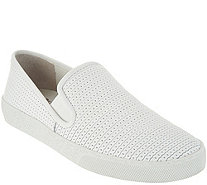 Vince Camuto Leather Slip On Sneakers - Cariana - A306244
