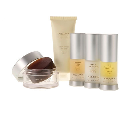 ARCONA Oily Skin Type Basic Five Travel Kit
