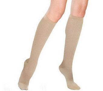 Preggers French Twist-Pattern Trouser Socks - A329344