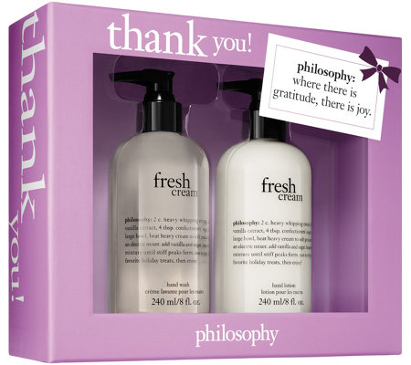philosophy thank you gift box