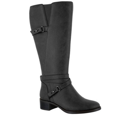 Easy Street Wide Calf Tall Boots - Carlita Plus