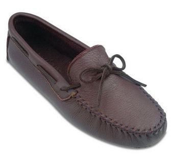 Minnetonka Men's Moosehide Driving Moccasins - A208745