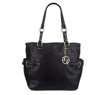 """As Is"" Maxx New York Pebble Leather N/S Tote"