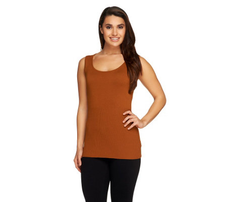Linea by Louis Dell'Olio Whisper Knit Rib Trim Tank