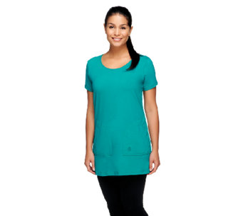 Linea by Louis Dell'Olio Top with Patch Pockets - A255145