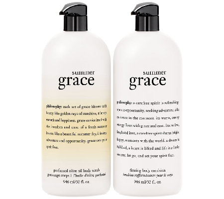 philosophy super-size summer grace duo