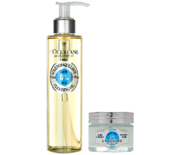 L'Occitane Shea Face and Shea Cleansing Oil Duo - A272245