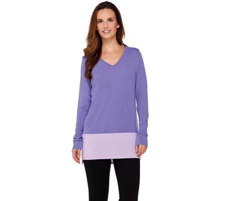 Women with Control Controlways Color-Block Tunic