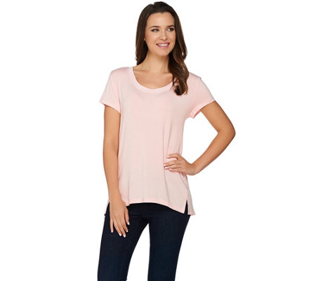 H by Halston Essentials Scoop Neck Knit Top