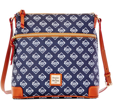 Dooney & Bourke MLB Rays Crossbody
