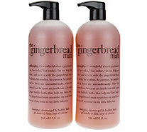 philosophy super-size gingerbread man shower gel duo - A285945
