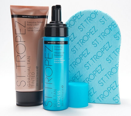 St. Tropez Express Mousse & Gradual Tan Set