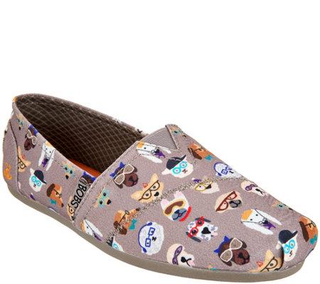 Skechers Bobs Smart Dog Slip Ons Plush Pup