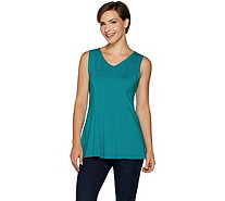Susan Graver Modern Essentials Stretch Cotton Modal Tank - A294845