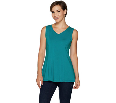 Susan Graver Modern Essentials Stretch Cotton Modal Tank