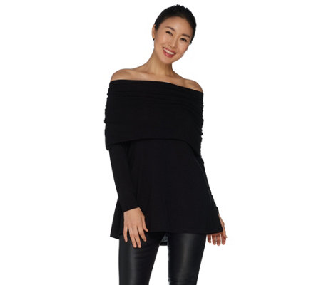 Lisa Rinna Collection Off the Shoulder Top