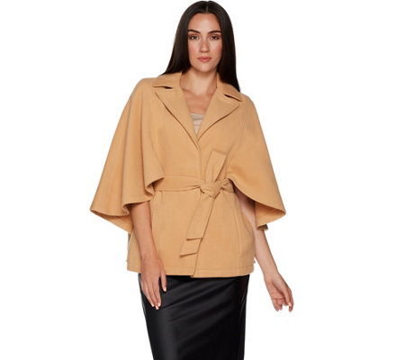 Joan Rivers Classic Cape with Belt