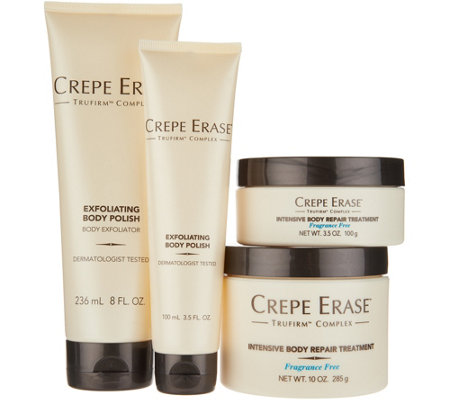 Crepe Erase Home & Away Intensive Body Treatment Set