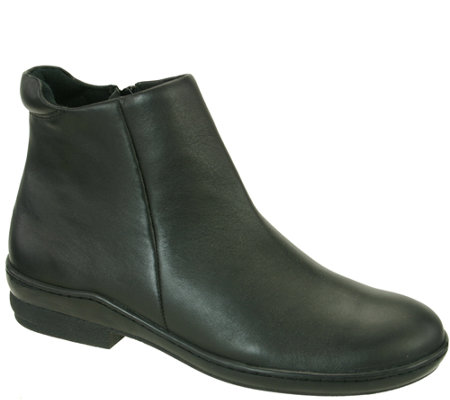 David Tate Leather Ankle Boots - Simplicity