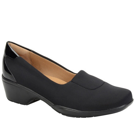 Softspots Flexible Stretch Fabric Slip-ons - Marnie