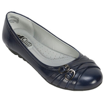 Cliffs by White Mountain Ballet Flats - Boyfriend - A340345
