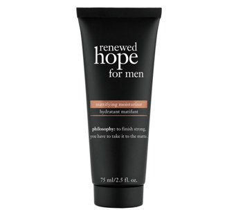 philosophy renewed hope for men mattifying moisturizer, 2.5 oz - A340645