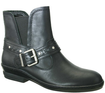 David Tate Leather Ankle Boots - Art - A341445