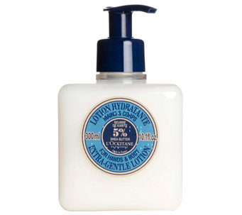 L'Occitane Shea Butter Extra Gentle Hand & BodyLotion 10.1 oz - A138446