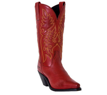 Laredo Burnished Cowboy Boots - Madison - A184346
