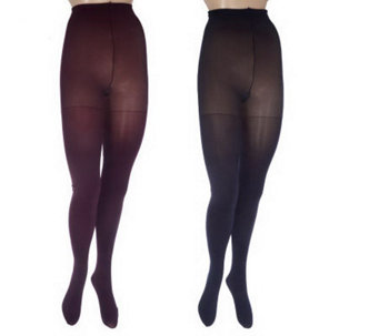 Illusionista Set of 2 Microlush Tights with UltimAir Foot - A209246