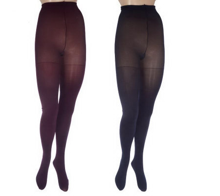 Illusionista Set of 2 Microlush Tights with UltimAir Foot