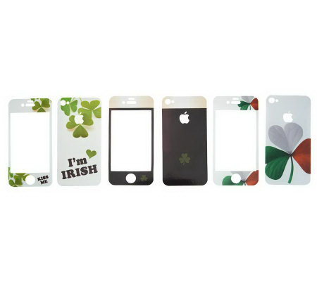 Rosso Solini Set of 3 Designer Decorations for iPhone