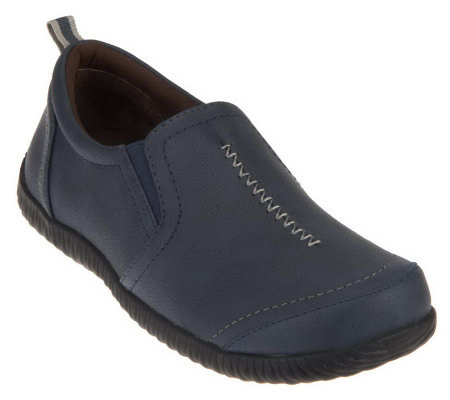 Vionic Orthotic Double Gore Slip-on Shoes - Zoe