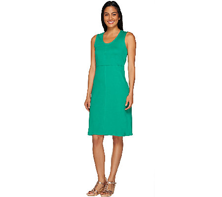 Liz Claiborne New York U-Neck Sleeveless Dress