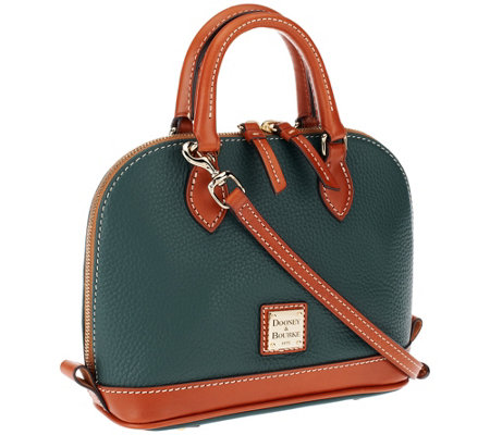 """As Is"" Dooney & Bourke Pebble Leather Bitsy Bag"