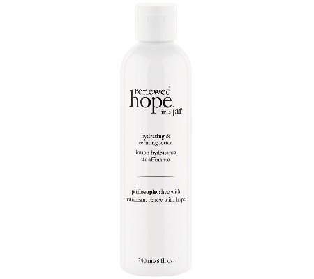philosophy renewed hope in a jar hydrating and refining lotion