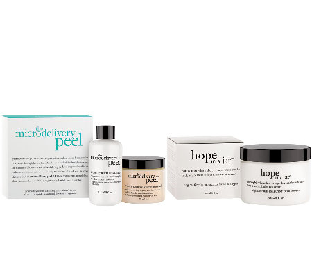 philosophy super-size vitamin c peel & hope in a jar