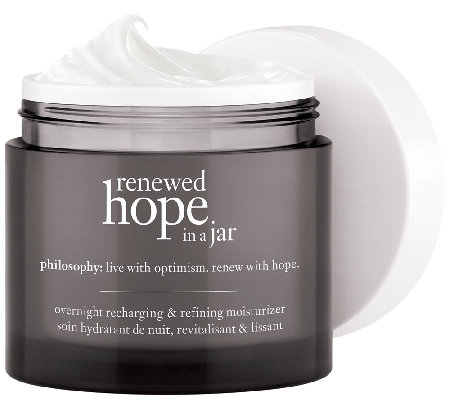 philosophy renewed hope night 2 fl oz moisturizer