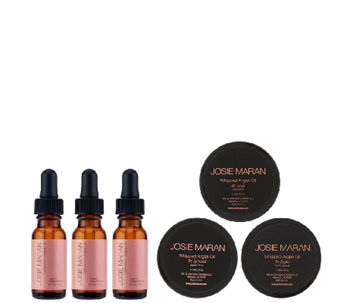 Josie Maran Argan Oil & Body Butter 6-pc Collection Auto-Delivery - A275946