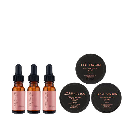 Josie Maran Argan Oil & Body Butter 6-pc Collection Auto-Delivery